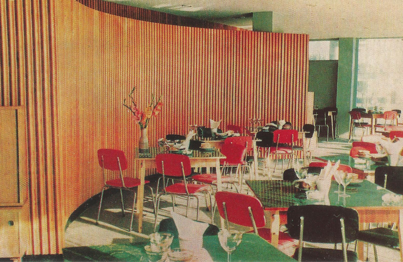 Innenraum vom Restaurant