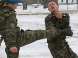 Hazing in the Russian army