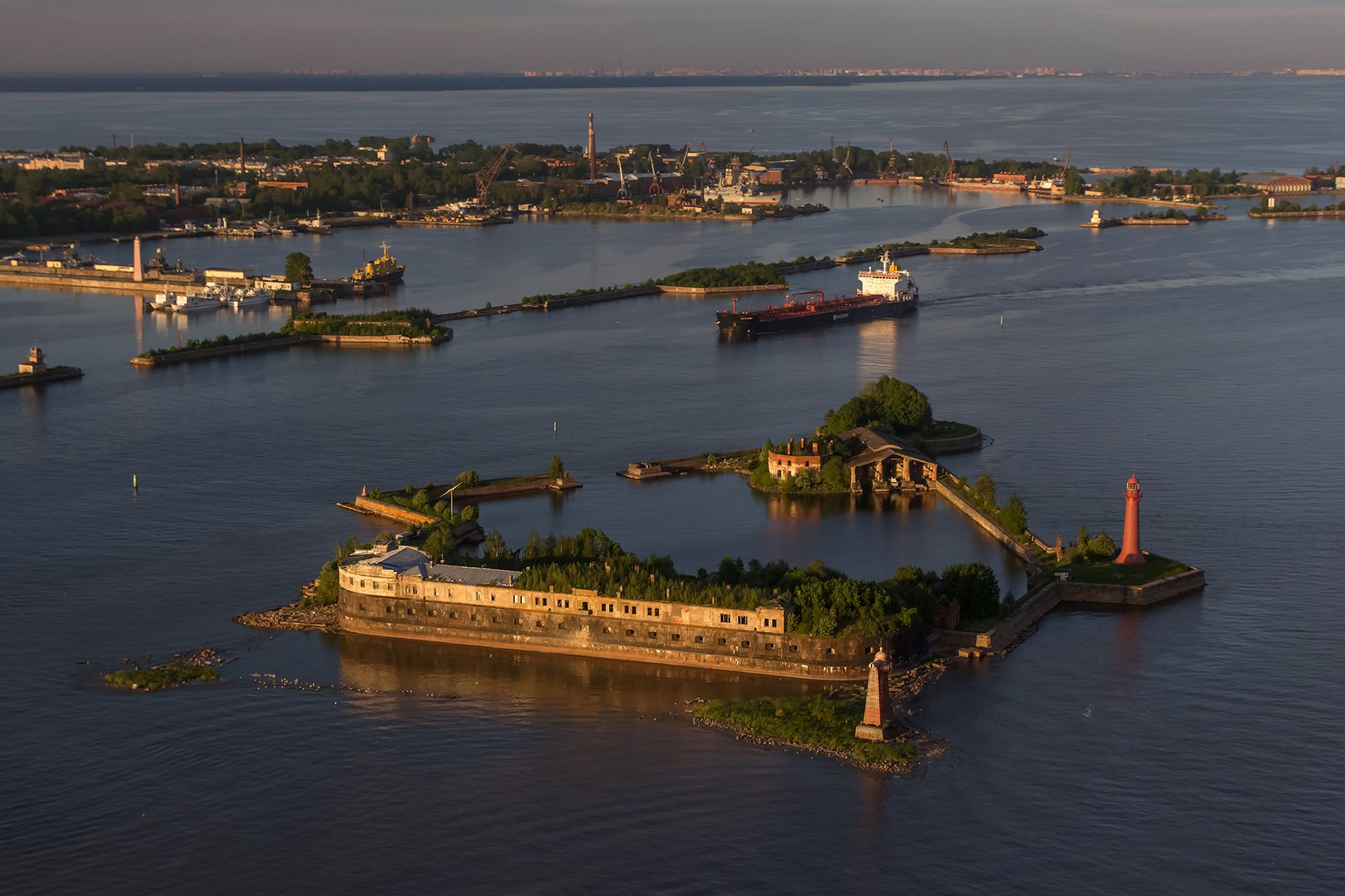 Climate and ecology of Kronstadt
