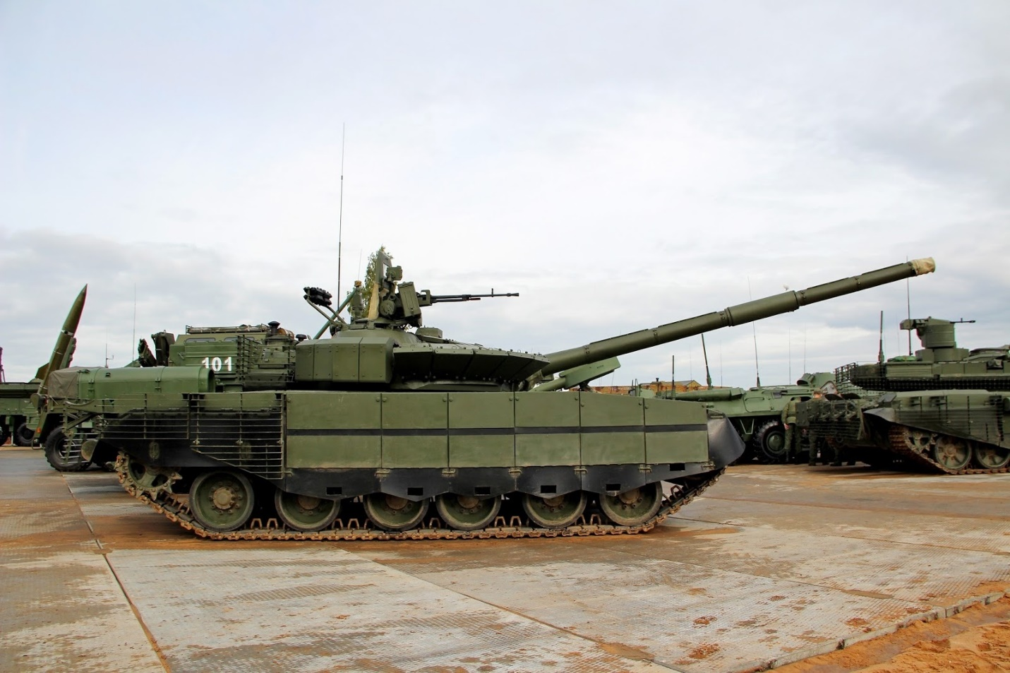 الدبابات الروسية الحديثة