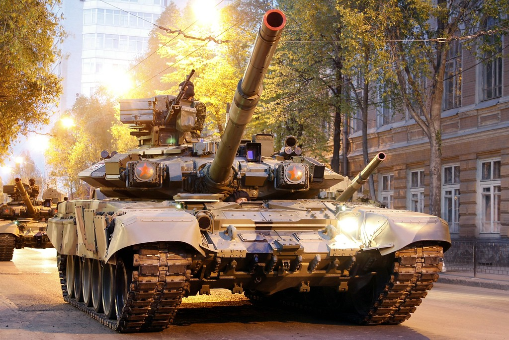 T-90: Advanced T-72B Tank